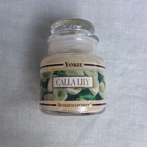 Yankee Candle 3.7 oz Calla Lily small jar candle